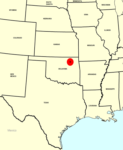 Missourian Map
